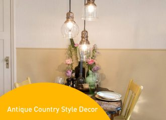 antique country style decor