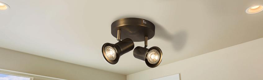 Retro ceiling lights