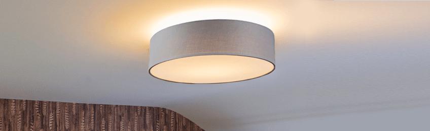 Grey ceiling lights