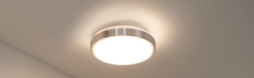 Aluminium ceiling lights