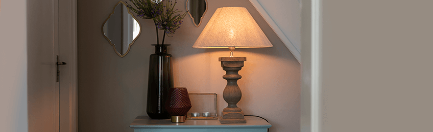 Brown table lamps