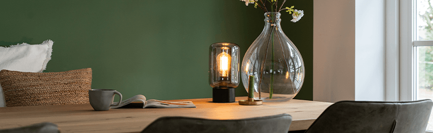 Table lamps dining room