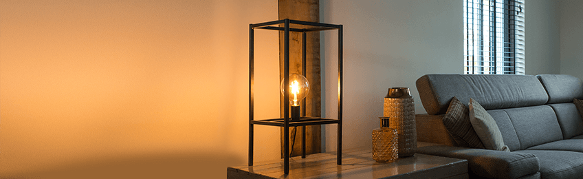 Industrial table lamps