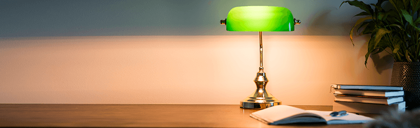 Banker lamps