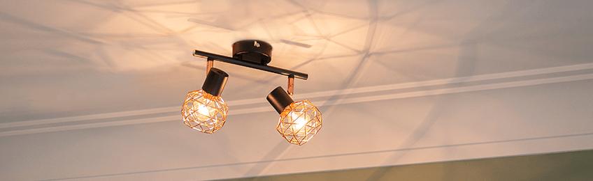 Ceiling spotlights