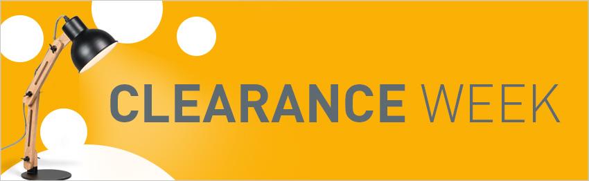 Clearance Week