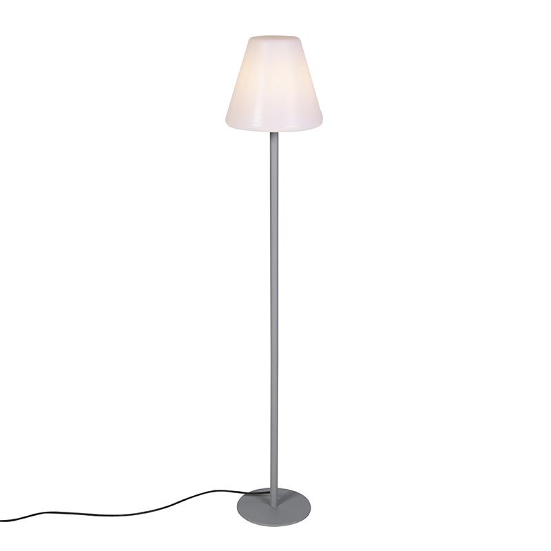 Modern Outdoor Floor Lamp Gray Ip65, Outdoor Floor Lamps For Patio Uk