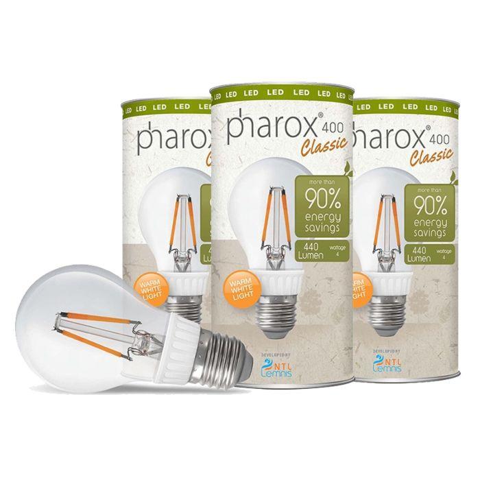 Set-of-3-E27-LED-Pharox-Classic-4W-440LM