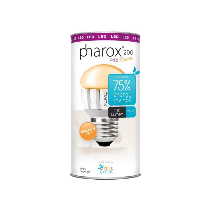 Pharox-LED-Bulb-200-P45-Flame-E27-4W
