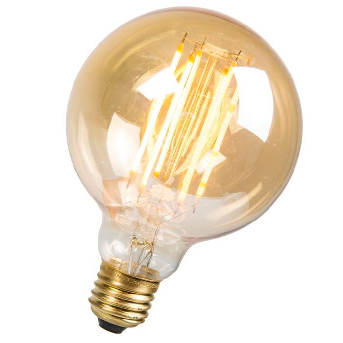 LED-Long-Filament-Rustic-Bulb-Globe-95mm-E27-2.7W-170LM-2000K