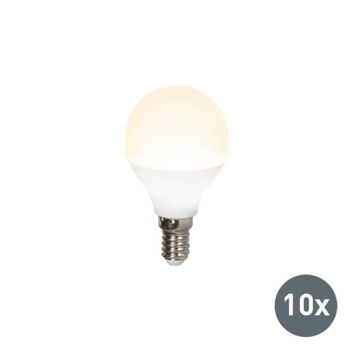 Set-of-10-E14-LED-G45-3W-250LM