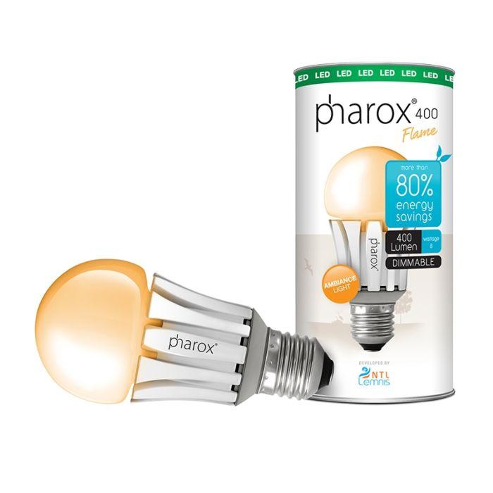 Pharox-LED-Bulb-400-Flame-E27-40W