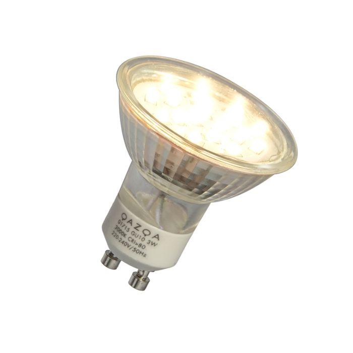 GU10-LED-Bulb-3W-230-250LM-3000K