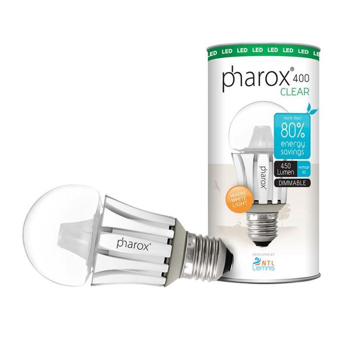 Pharox-LED-Bulb-400-Clear-E27-40W