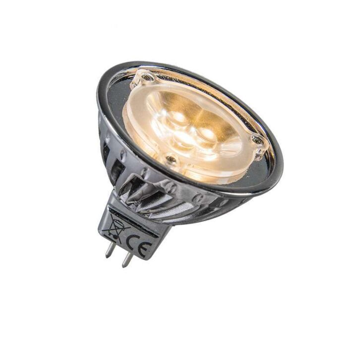 Power-LED-12V-MR16-3x1W-=-approx.-30W-warm-white