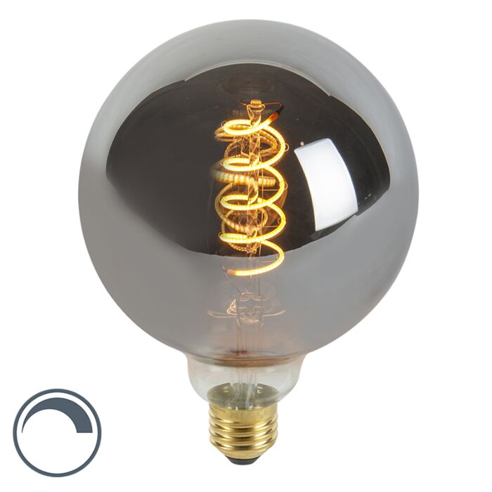 E27-LED-G125-Smoke-4W-100LM-2100K-Dimmable