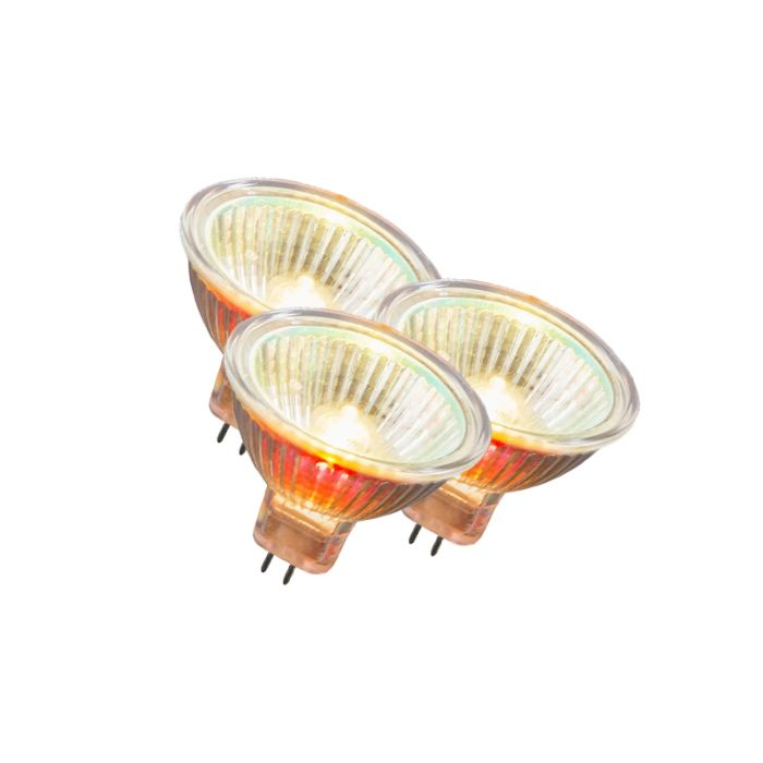 Set-of-3-MR16-Halogen-10W-55LM