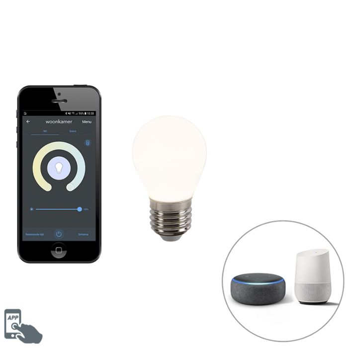 E27-dimmable-LED-lamp-P45-WiFi-Smart-with-app-400-lm-2200---4000K