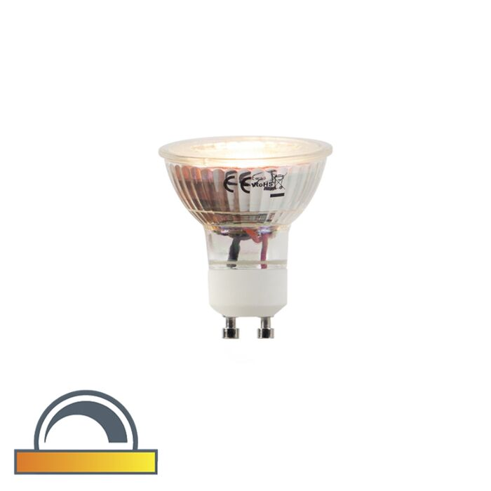GU10-LED-5W-360LM-2000K-2700K-Dimmable