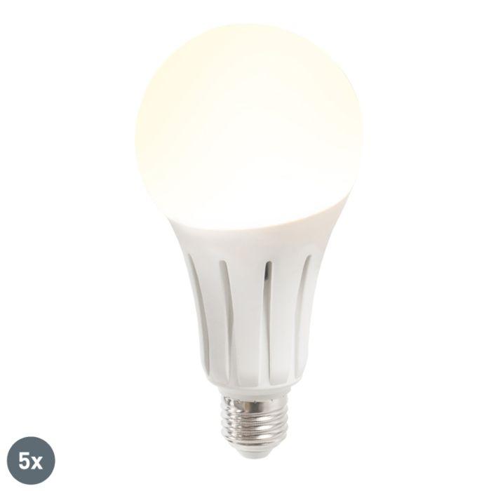 Set-of-5-E27-LED-B60-24W-2452LM