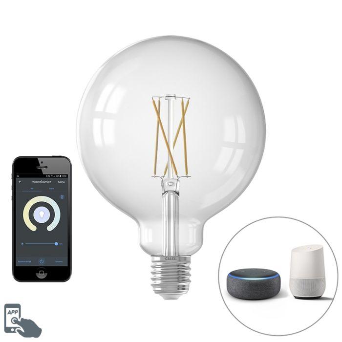 Calex-Smart-E27-LED-G125-Filament-7.5W-1055LM-1800K---3000K