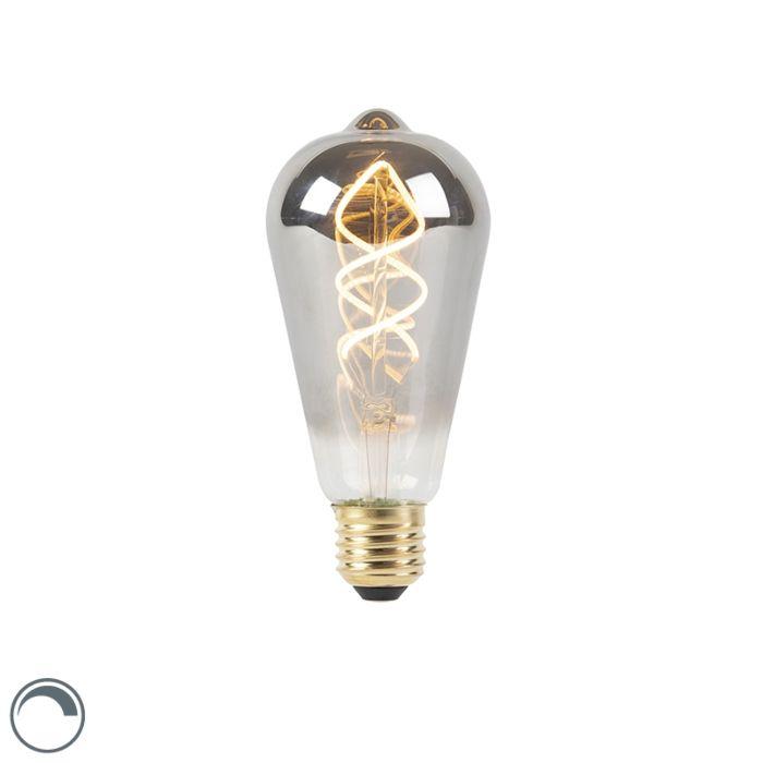 E27-LED-ST64-Smoke-4W-100LM-2100K-Dimmable