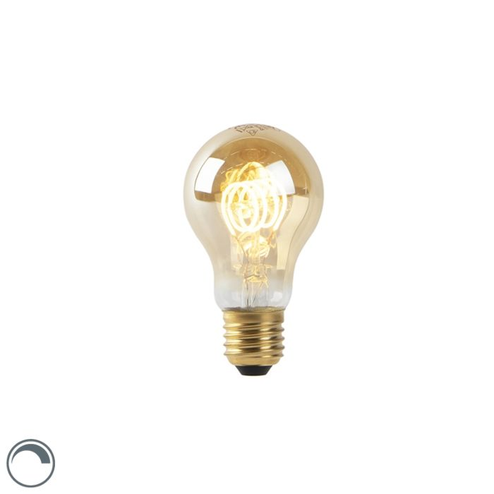 E27-LED-A60-Gold-Spiral-Filament-4W-200LM-2200K-Dimmable