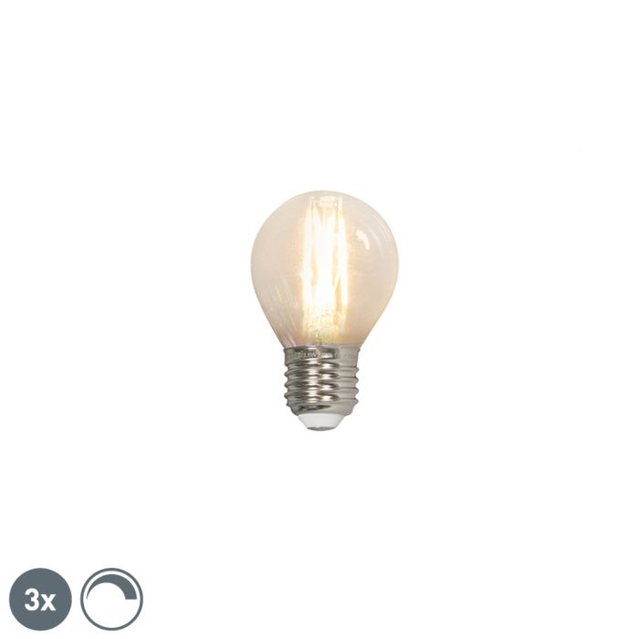 Set-of-3-LED-filament-ball-lamp-E27-240V-3.5W-350lm-P45-dimmable
