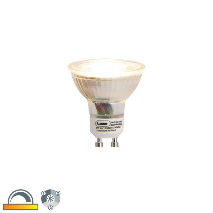 GU10-3-step-dim-to-warm-LED-lamp-5w-380-lm-2000-2700K