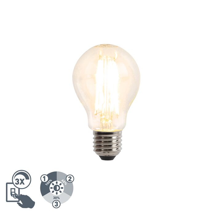 E27-LED-A60-Clear-Filament-8W-806LM-2700K-3-Step-Dim-Function