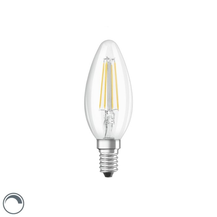 E14-dimmable-LED-filament-candle-lamp-B35-clear-5W-470-lm-2700K