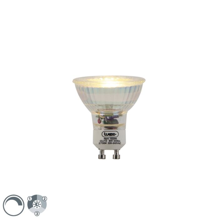GU10-dimmable-LED-lamp-3-step-dimmable-5W-345lm-2700-K.