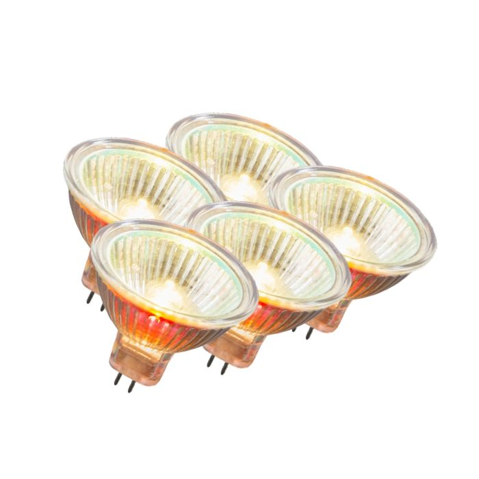 Set-of-5-MR16-Halogen-20W-200LM