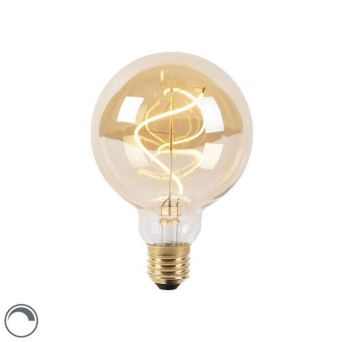 E27-dimmable-LED-spiral-filament-lamp-G95-goldline-200lm-2100K