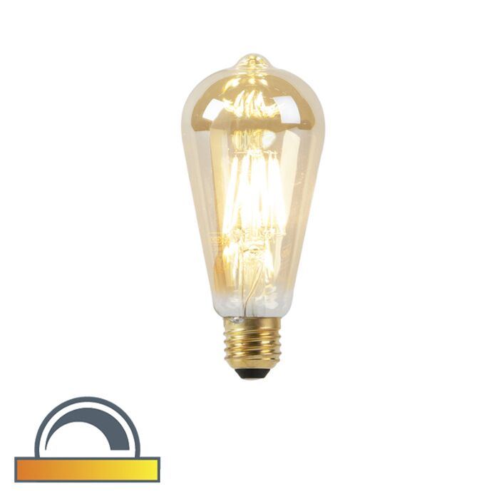E27-LED-ST64-Goldline-Filament-8W-900LM-2000K-2600K