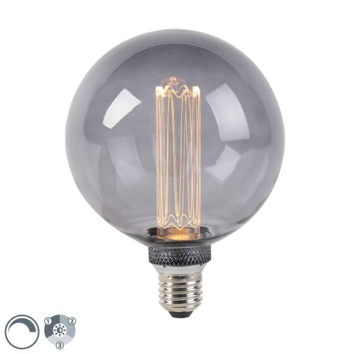 E27-LED-G125-Smoke-5W-100LM-2000K-3-Step-Dimmer