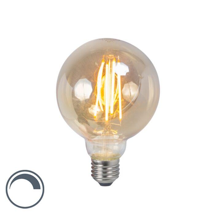 E27-LED-G95-Smoke-Filament-5W-450LM-2200K-Dimmable