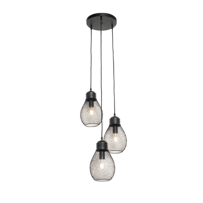Design-hanging-lamp-black-3-light---Raga