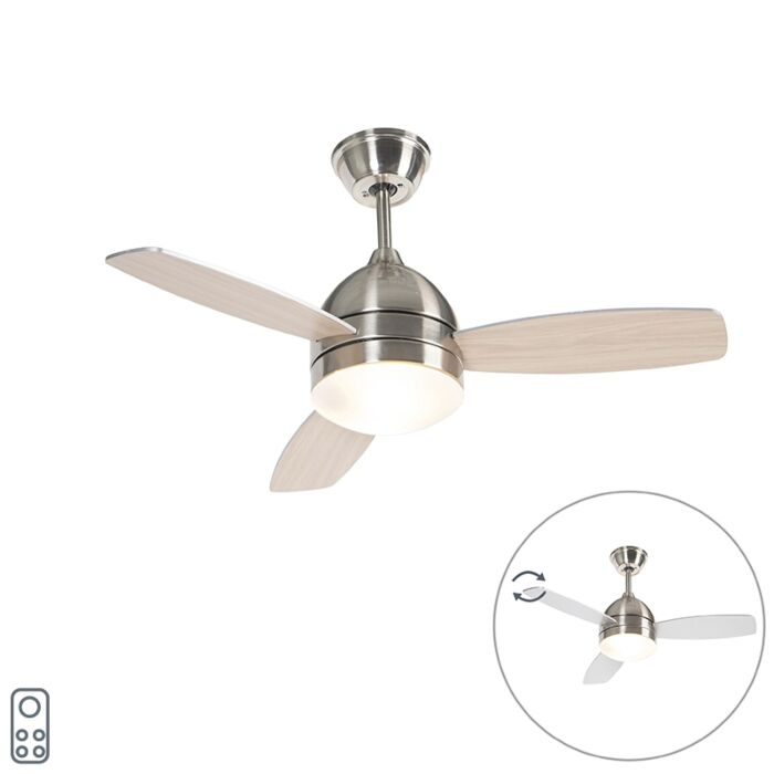 Ceiling-fan-steel-with-remote-control---Rotar