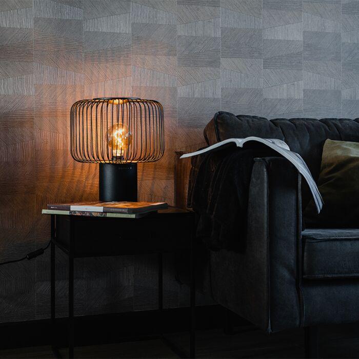 Design-table-lamp-black-32-cm---Baya