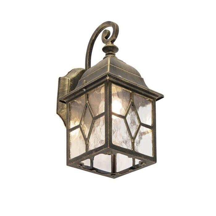 Smart-romantic-outdoor-wall-lamp-bronze-incl.-Wifi-A60---London