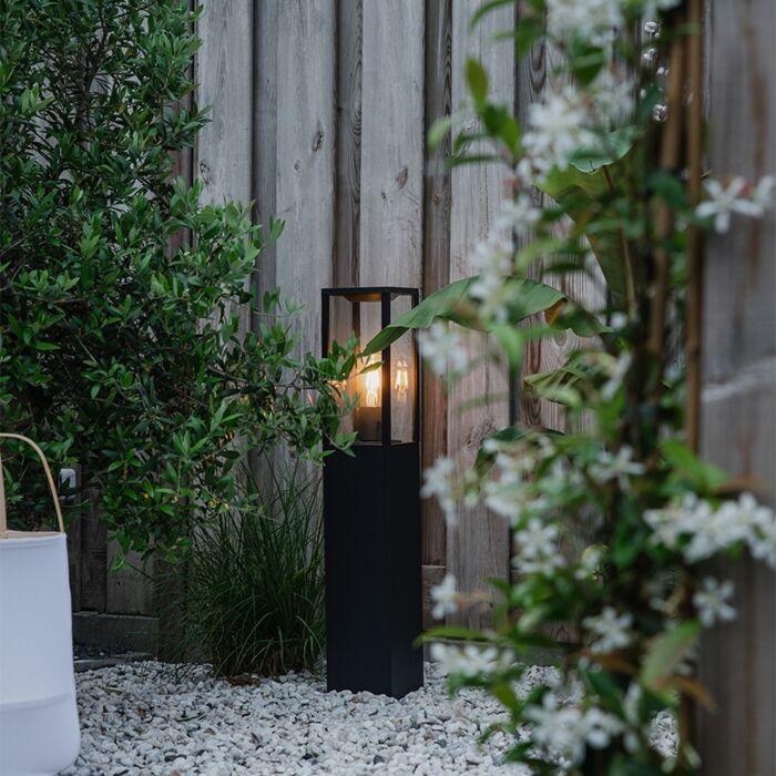 Industrial-outdoor-lamp-black-80-cm-IP44---Charlois