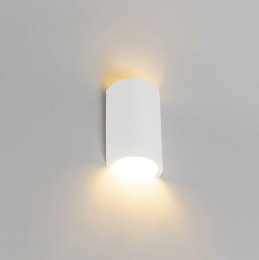 Modern-wall-lamp-white---Colja-Novo