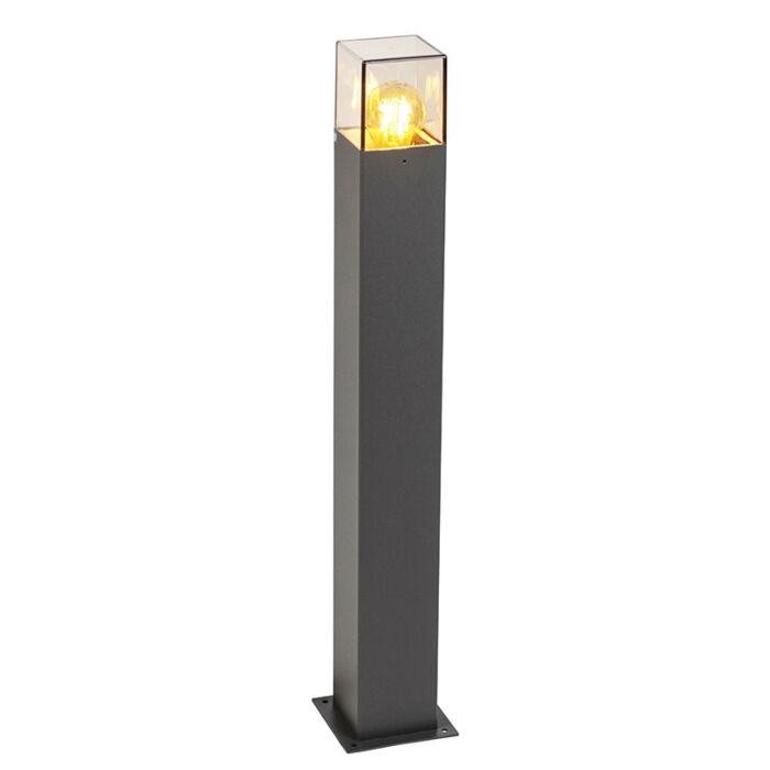 Smart-standing-outdoor-lamp-anthracite-70-cm-incl.-WiFi-A60---Denmark