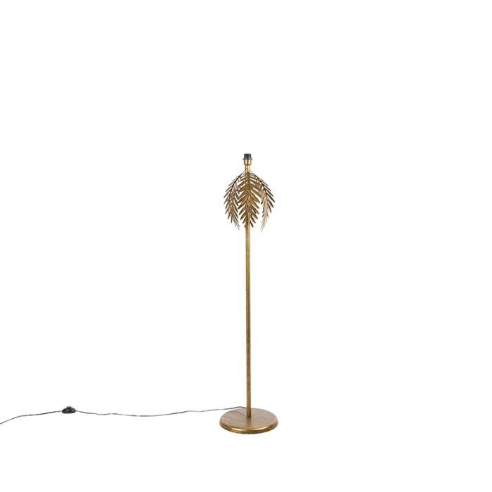 Vintage-floor-lamp-gold---Botanica