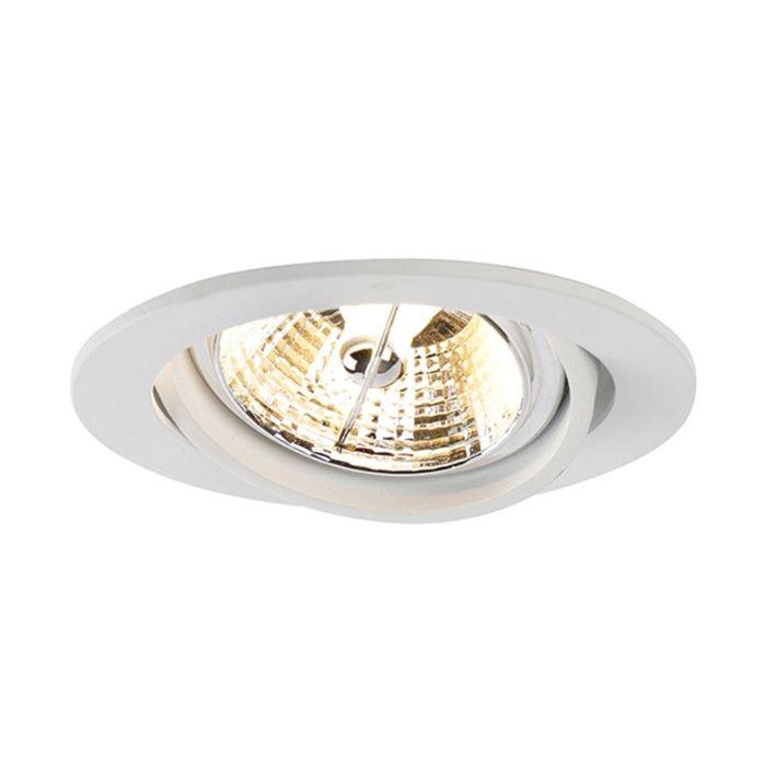 Modern-recessed-spot-white-tiltable-AR70---Cisco