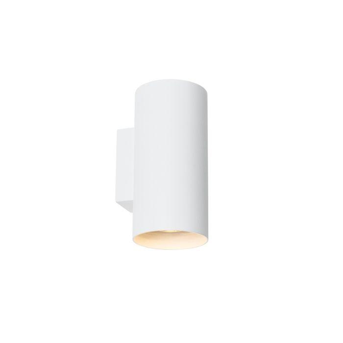 Design-wall-lamp-white-round---Sab
