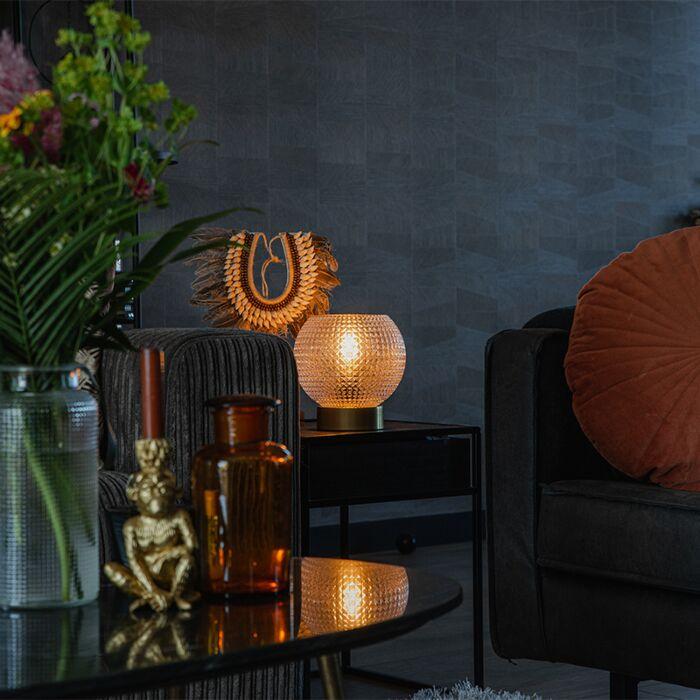 Art-Deco-table-lamp-brass---Sphere