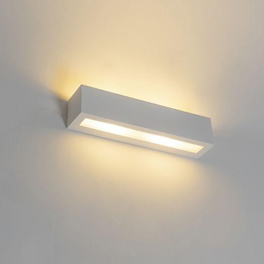 Modern-wall-lamp-white-2-light---Tjada-Novo
