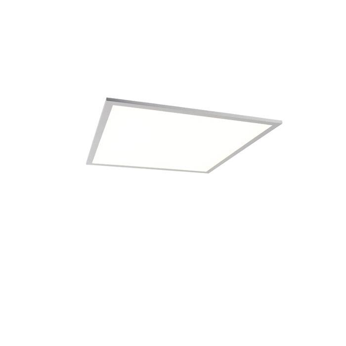 Modern-ceiling-lamp-white-120-cm-incl.-LED---Liv